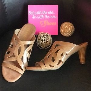 Aerosoles Tan Heeled Sandals